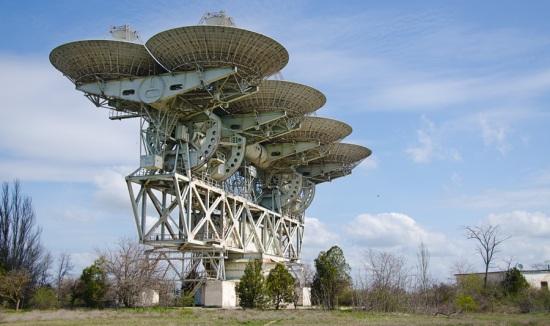 Космічні антени в Євпаторії