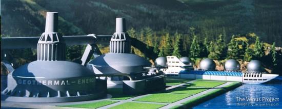 Проект Венера - Геотермальна електростанція