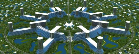Проект Венера - місто