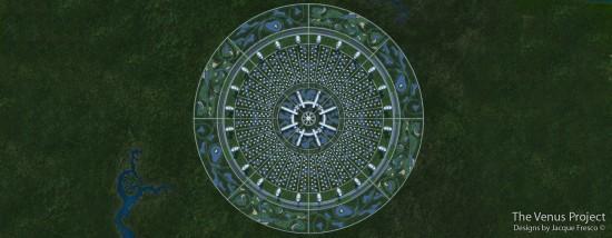 Проект Венера - план міста