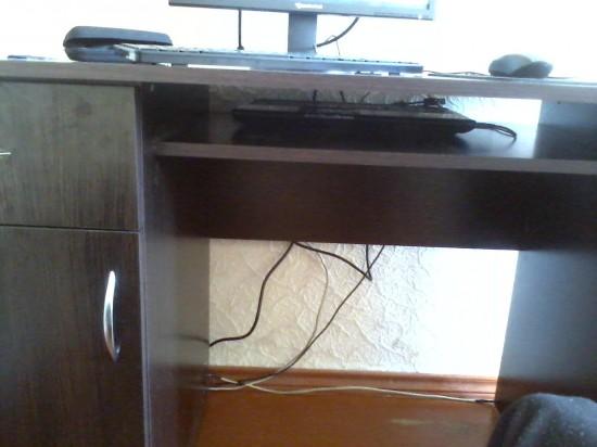 Ось там заховався «системний блок» мого комп'ютера.