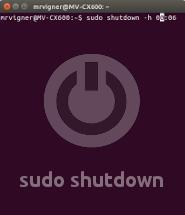 Автоматичне вимкнення компютера на Убунту