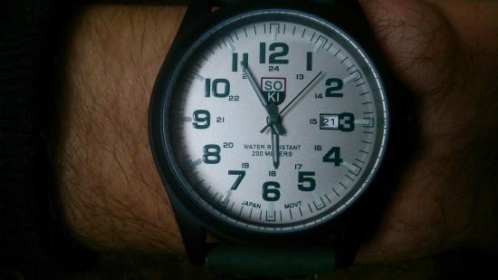 Кварцовий годинник «SO KI»