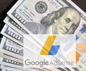 Перша вершина взята: більше 100$ в місяць з AdSense