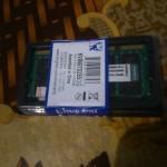Kingston SODIMM DDR2 667 мГц 2 ГБ