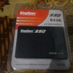 SSD KingSpec 2,5 SATA III 64 Gb